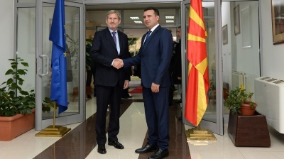 EU's Hahn says Macedonia should complete critical reforms to start accession talks
