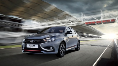 Russia's Avtovaz launches the new sporty Lada Vesta