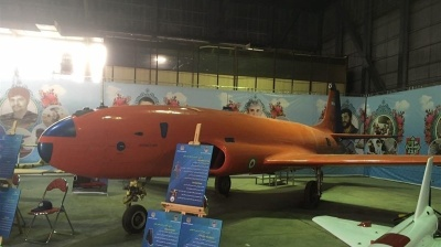 Iran's latest homemade drone resembles orange whale… and won't be winning any stealth technology awards