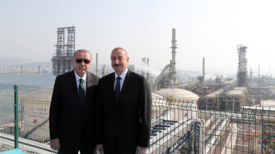 Turkey celebrates its first new oil refinery since 1975
