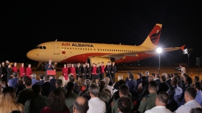 Air Albania launches maiden flight on Tirana-Istanbul route