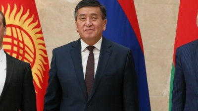 Initial Kyrgyz election results show Jeenbekov set for surprise outright victory