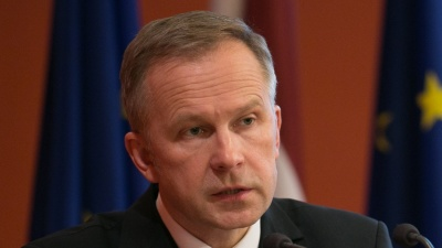 Latvia's anti-corruption bureau seeks charges against central bank governor Rimsevics