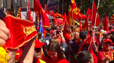 Macedonians hold worldwide protests to defend country's name