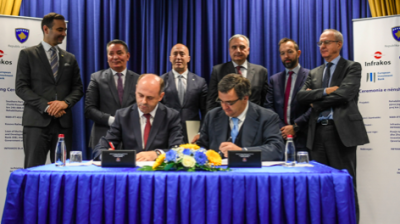 Kosovo signs €210mn railway upgrade project with Italy's GCF
