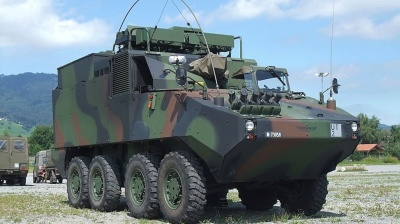 Romania signs €900mn contract for Piranha armoured vehicles