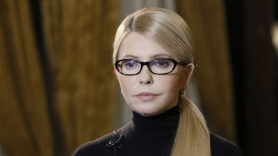 Tymoshenko keeps leading among Ukraine presidential candidates, new survey says
