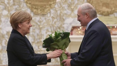 Lukashenko beats Merkel as the most popular foreign politician in Ukraine
