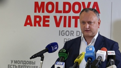 Moldova's President Dodon initiates referendum to increase his powers