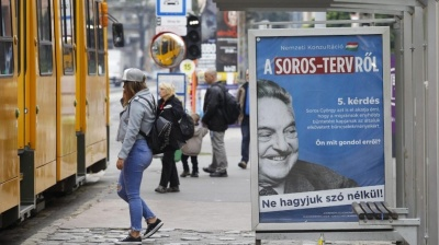 Hungarian government files 'Stop Soros' bill to parliament