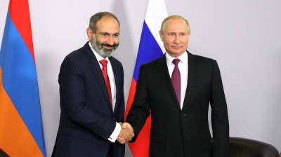 "CAUCASUS BLOG: But Mr Pashinian, Putin may not want the new ""ancient Greece"" on his doorstep…"
