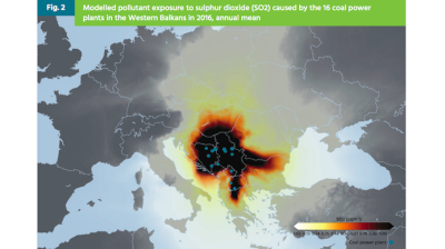 EU citizens bear brunt of Western Balkans coal pollution