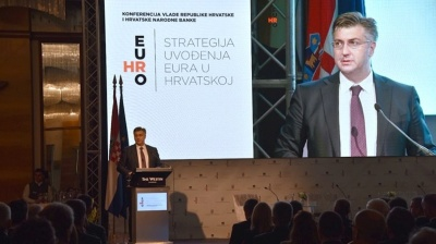 Croatian PM sets out timetable for euro adoption