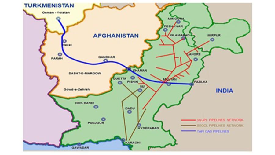 uzbekistan plans to join 10bn turkmenistan led tapi gas pipeline project - Tapi