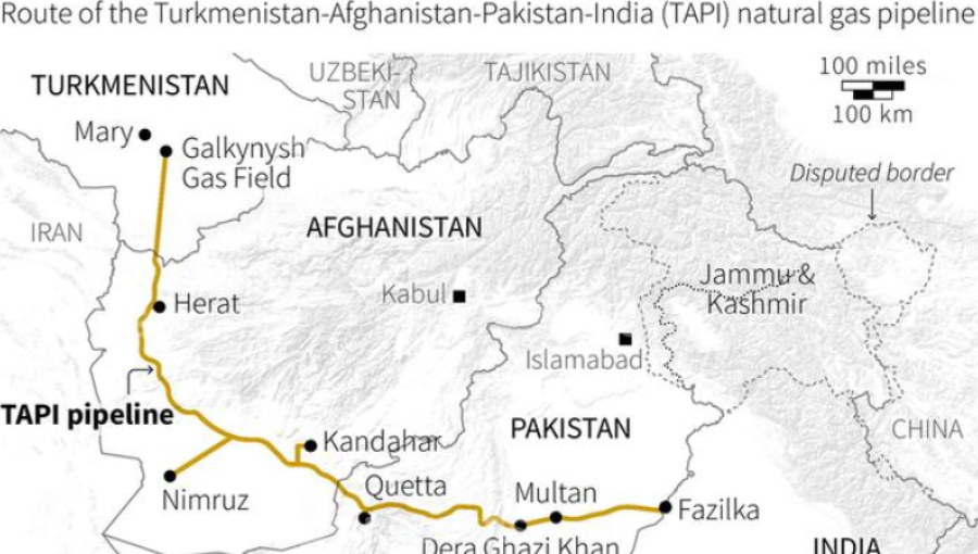 taliban pledge protection as construction starts on afghan part of tapi pipeline - Tapi