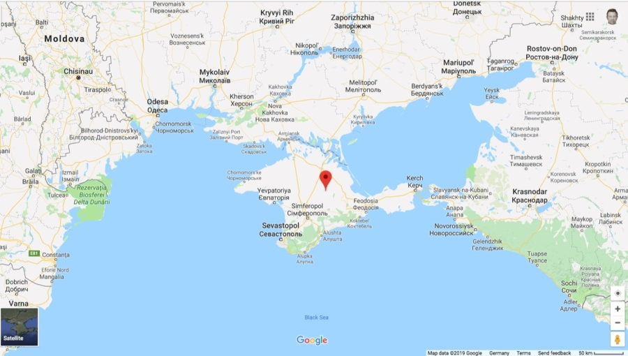 Crimean Peninsula Europe Map.Bne Intellinews Google Fixes Technical Mistake In Maps That