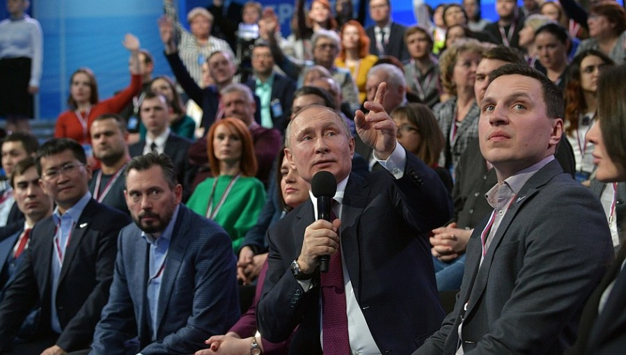 Bne Intellinews Russian President Vladimir Putin S Popularity In Large Cities Tumbled By 12 Points In February