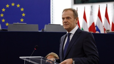 European Council head Donald Tusk wades into Polish politics ahead of key vote