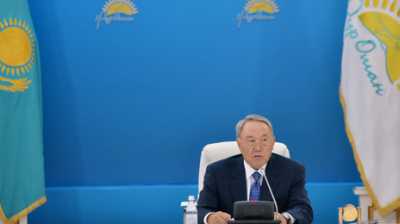 POWER PLAY IN KAZAKHSTAN: Nazarbayev's iron rod glimpsed in shadows