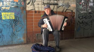 Ukrainian pensioners sing the blues