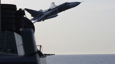 US-Russia tensions soar with sanctions and aerial brinkmanship