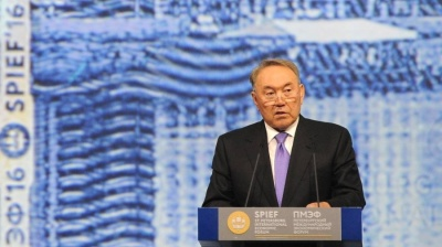"Kazakhstan's Nazarbayev in ""cowards"" outburst at ministers failing with banks clean-up"
