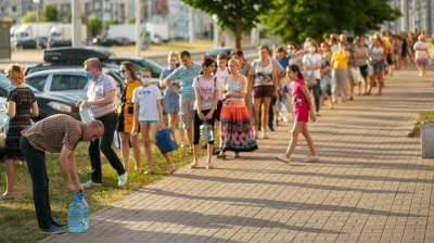 Fresh water system in Minsk collapses