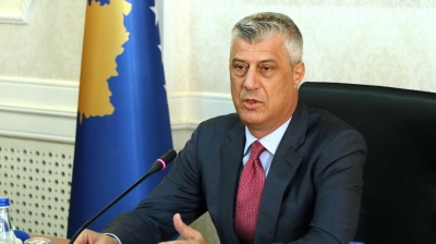Kosovo's Specialist Prosecutor files war crimes charges against President Thaci