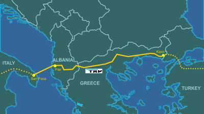 Azerbaijani gas reaches Turkish-Greek border via TANAP pipeline: reports