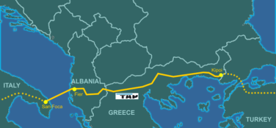 Azerbaijani gas 'won't flow to EU terminus until at least October 2020'