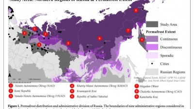 Russia's permafrost is melting