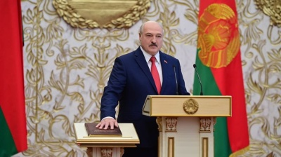 Lukashenko inaugurates himself in secret
