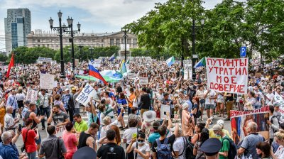 Only 31% of Russians willing to vote for ruling United Russia Party, says Levada Center