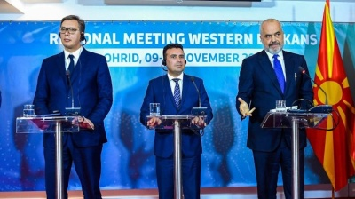 Albania, North Macedonia and Serbia agree to set up common market