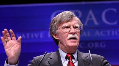 Bolton follows up on Trump's ALL-CAPS warning to Iran with a low growl