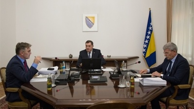 Bosnia's new presidency sets EU membership as strategic priority