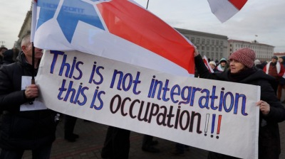 Putin, Lukashenko fail to secure 'integration' deal amid anti-Russia protests in Belarus