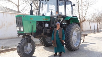 Success of Tajik woman agri-entrepreneur 'demonstrates value of Green Economy Financing Facility'