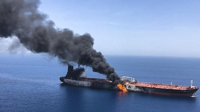 TANKER ATTACKS: Tehran claims somebody's out to frame Iran