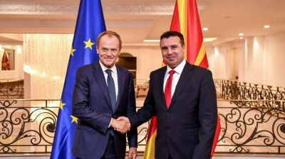 European Council head Tusk urges EU leaders to open accession talks with Albania and North Macedonia