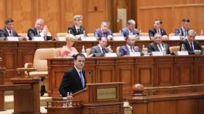 Romanian parliament endorses Ludovic Orban's government