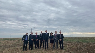 Israel's Enlight opens largest wind farm in Serbia