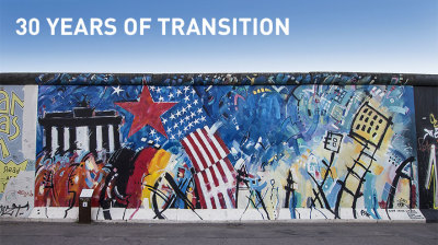 30 YEARS OF TRANSITION: Ground zero and the fall of the wall in Berlin