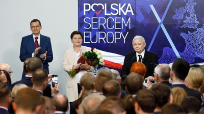Poland's PiS cruises to victory in European election