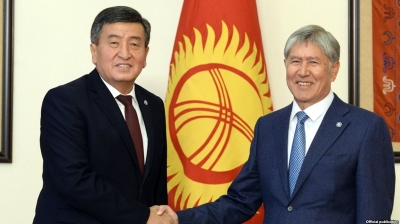 Catfight in Kyrgyzstan: President and predecessor show their claws