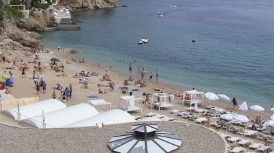 Croatian tourist activity just over half of 2019 level in July