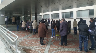 Huge queues outside hospitals in Bulgaria after PM announces vaccination free-for-all