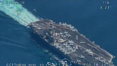Iran says it flew drone over US carrier, releases 'surveillance photos'