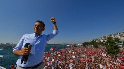 Erdogan candidate suffers thumping defeat in Istanbul revote