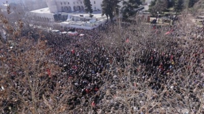 Opposition denied permission for protest as political rift deepens in Albania